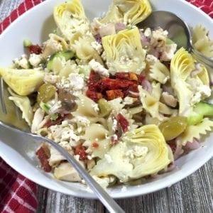 Chilled Mediterranean Salad