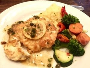Lemon Chicken with Capers