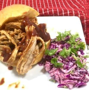 Slow-Cooked Sriracha BBQ Pork 2