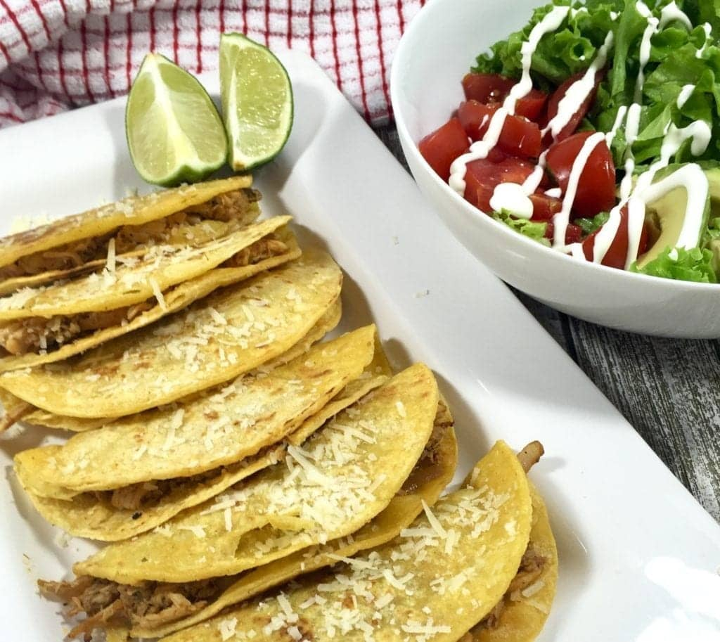 Chicken Tacos with Avocado Salad