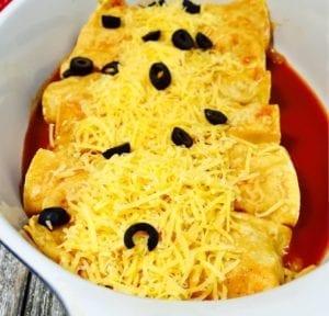 enchiladas ready to bake