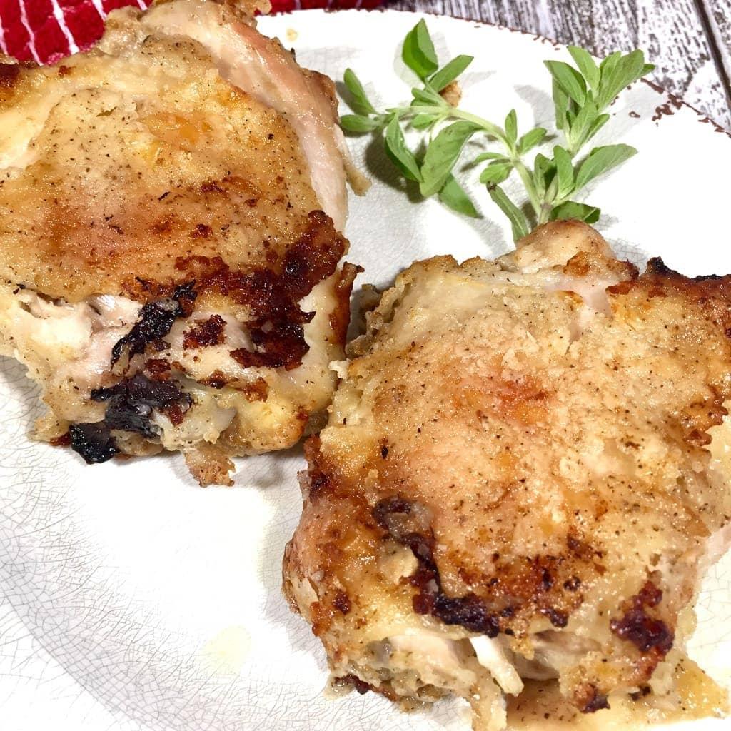 Oven Fried Chicken 1