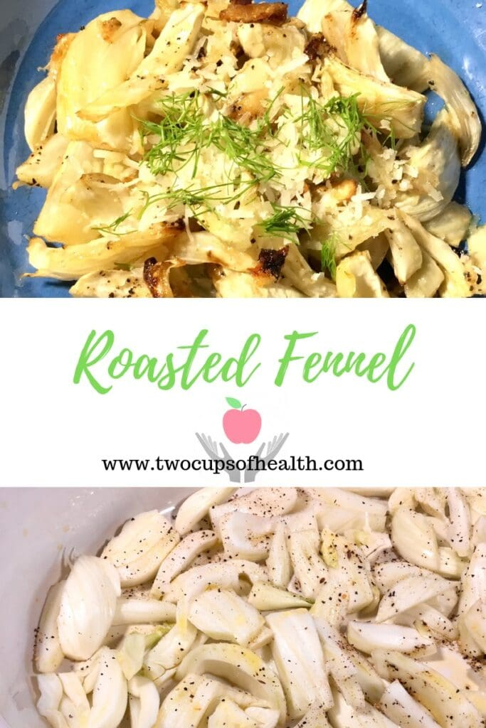Roasted Fennel Pinterest pin