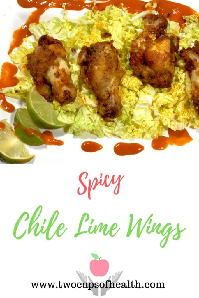 Chili Lime Wings Pinterest Pin