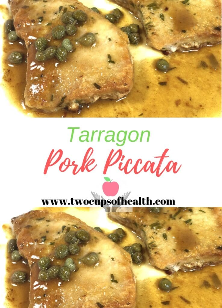 Piccata with Pork Pinterest Pin