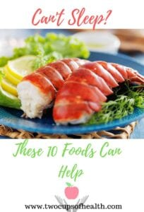 Pinterest pin on Can't Sleep featuring steamed lobster
