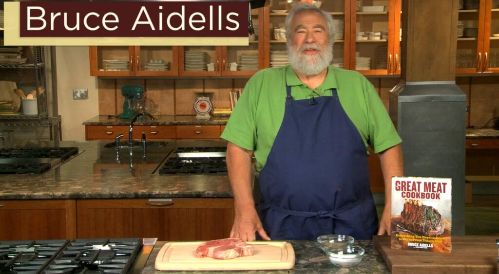 Bruce Aidell's teaching video on How to Cook the Best Steak!