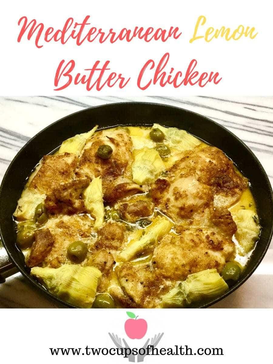 Mediterranean Lemon Butter Chicken