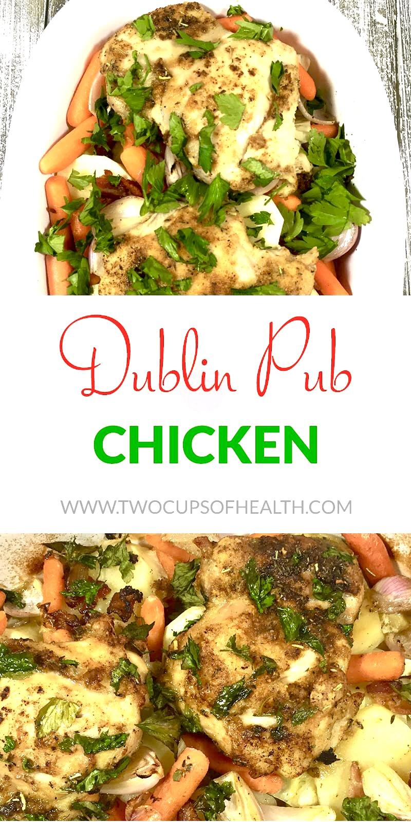 Dublin Pub Chicken Pinterest Pin