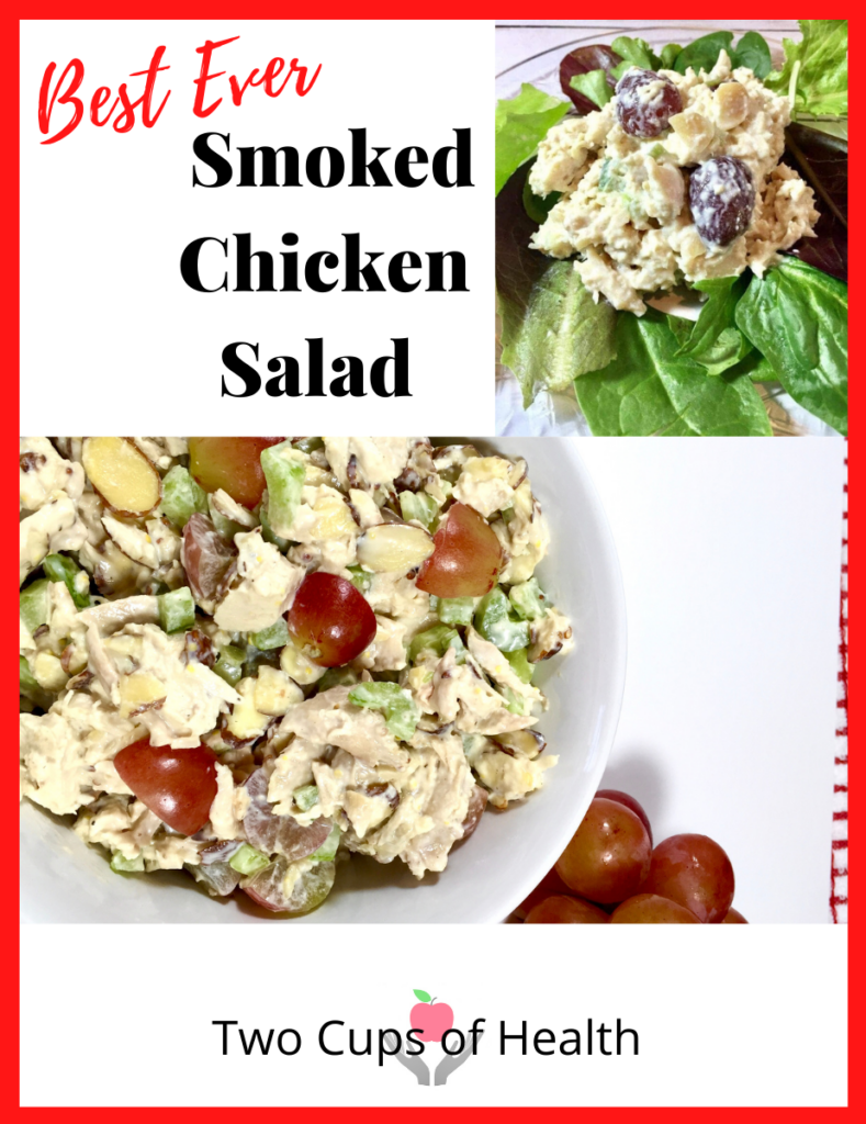 Best Ever Smoked Chicken Salad Pinterest Pin